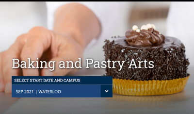 Baking and Pastry Arts tại Conestoga College