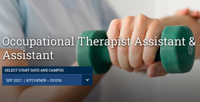 Occupational Therapist Assistant & Physiotherapist Assistant tại Conestoga College
